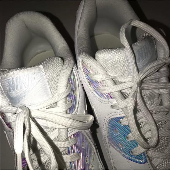 promo code 04dd1 7912c Nike Air Max 90 Premium 443817-104 White Blue Tint.  M 5b183065e944bacee92aca12